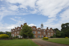 The Exterior of Rothamsted Manor, an event and filming location in Harpenden, Hertfordshire