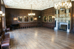 The Great Drawing Room at Rothamsted Manor, an event and filming location in Harpenden, Hertfordshire