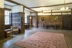 The Hall at Rothamsted Manor, an event and filming location in Harpenden, Hertfordshire