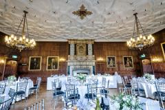Rothamsted Manor Wedding Set Up