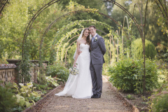 The Gardens of Rothamsted Manor © Weddingly