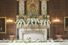 Rothamsted Manor Fireplace Flowers