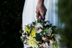 Beautiful flowers at Rothamsted Manor wedding Harpenden, Hertfordshire © Weddingly