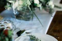 Styled wedding table at Rothamsted Manor © Weddingly