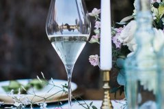 Styled table at Rothamsted Manor © Weddingly