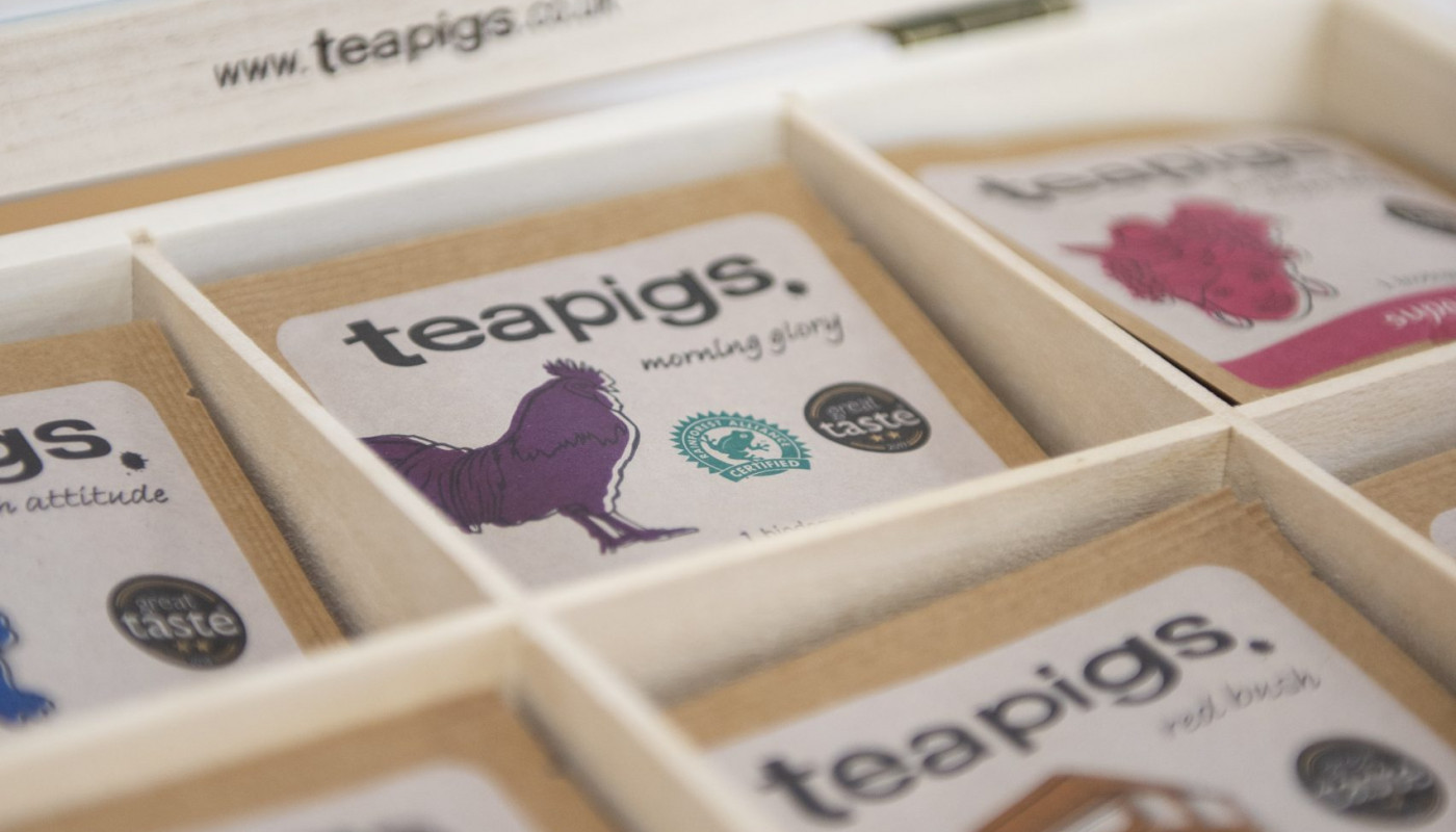 Teapigs tea at Rothamsted Conference Centre