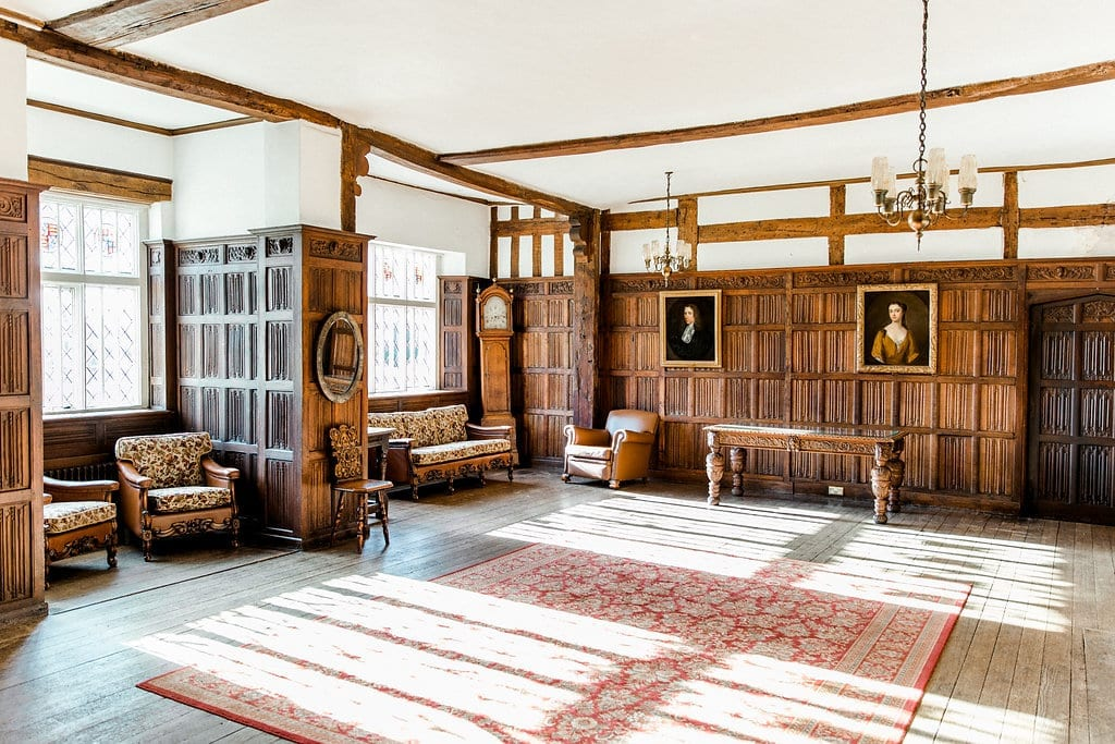 The Hall at Rothamsted Manor
