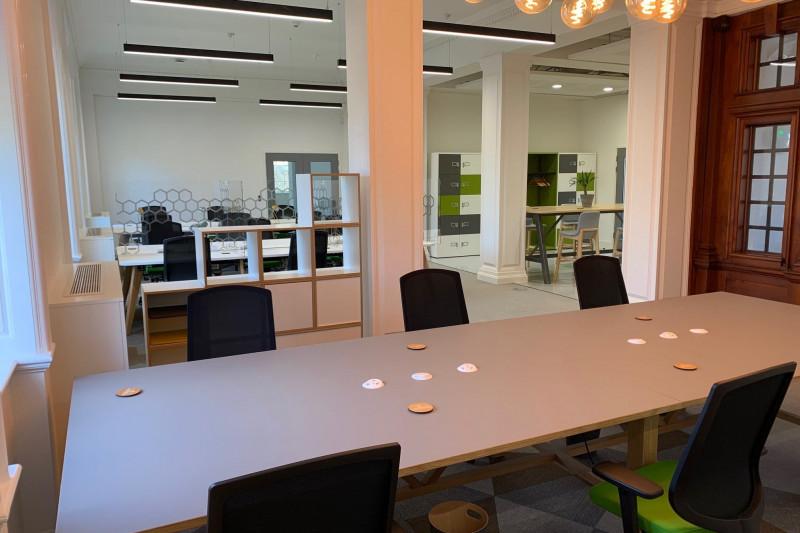 Sustainability-focused partnership between JPA Workspaces and Rothamsted Enterprises