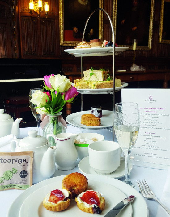 Afternoon Tea at Rothamsted Manor