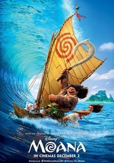 Half term films at Rothamsted Conference Centre- Moana (PG)