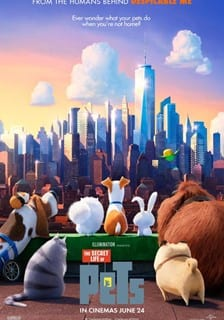 Half term films at Rothamsted Conference Centre – The Secret Life of Pets (U)